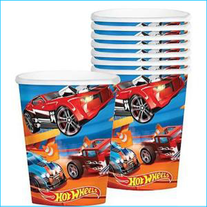 Hot Wheels Cups Pk 8