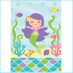 Mermaid And Friends Loot Bags PK8