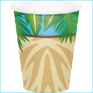 Safari Advuenture Paper Cups PK8