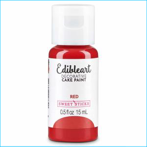 Edibleart Paint Red 15ml