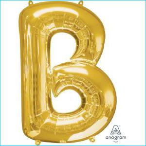 Anagram Letter B Foil Balloon 86cm