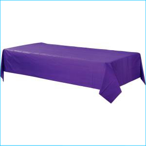 New Purple Plastic Lunch Plates 20pk