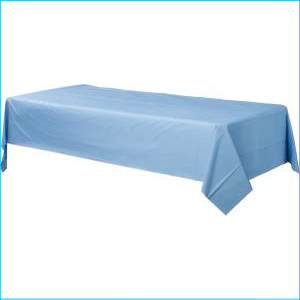 Pastel Blue Rectangle Tablecover