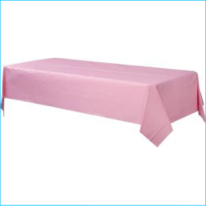New Pink Rectangle Tablecover