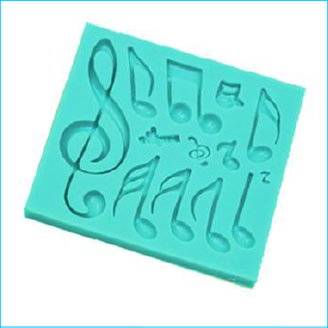 Silicone Mould Music Notes