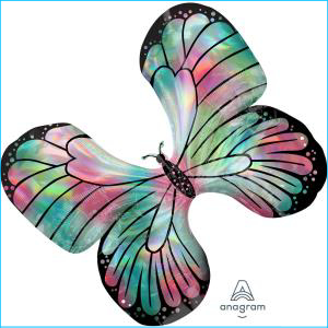 Holographic Butterfly Supershape