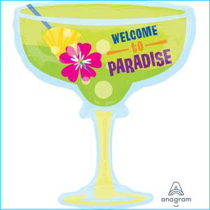 Welcome To Paradise Cocktail Supershape