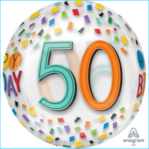 50th Confetti Orbz