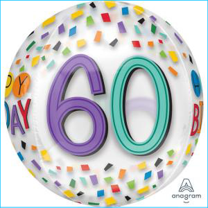 60th Confetti Orbz