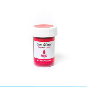 Chefmaster Candy Colour Red 20g