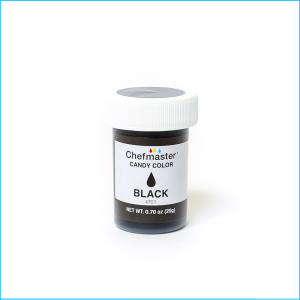 Chefmaster Candy Colour Black 20g