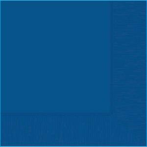 Royal Blue Beverage Napkin pk20