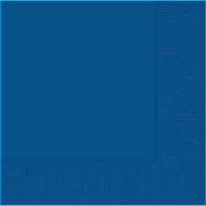 Royal Blue Lunch Napkin pk20