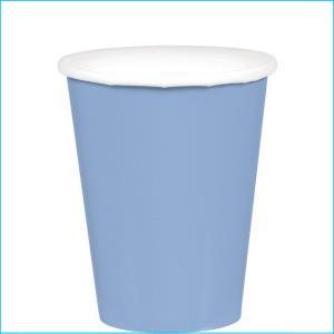 Pastel Blue Paper Cups pk20