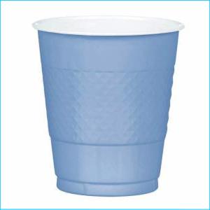 Pastel Blue Plastic Cup pk20