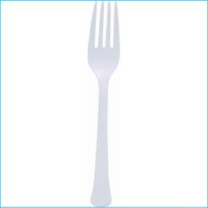 Frosty White Forks pk20