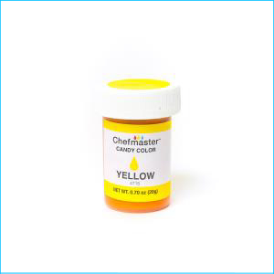 Chefmaster Candy Colour Yellow 20g