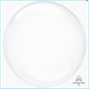 Crystal Clearz Clear S40 Balloon