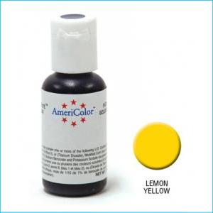 Americolor Gel Paste Lemon Yellow 21g