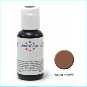 Americolor Gel Paste Warm Brown 21g