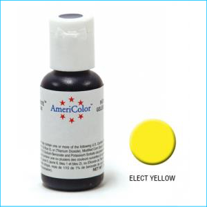 Americolor Gel Paste Electric Yellow 21g