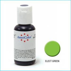 Americolor Gel Paste Electric Green 21g