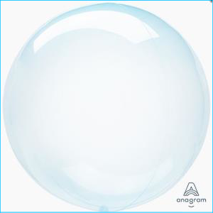 Crystal Clearz Blue S40 Balloon