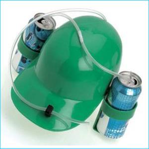 Drinking Helmet Green