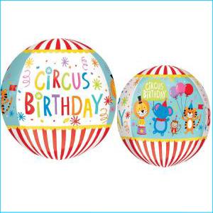 Orbz Circus Theme Birthday