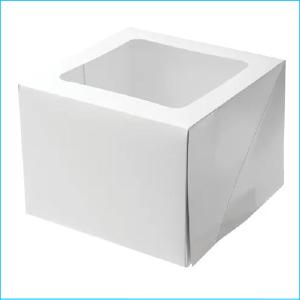 "Mondo Cake Box 8"" x 8 x 6"""