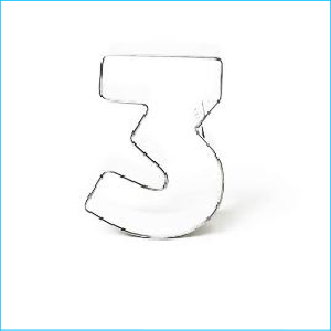 Cookie Cutter Number 3