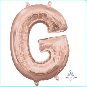 Airfill Letter G Rose Gold Foil 40cm