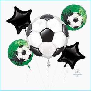 Foil Bouquet Soccer Ball Set 5