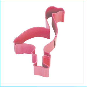 Cookie Cutter Flamingo 10cm Pink