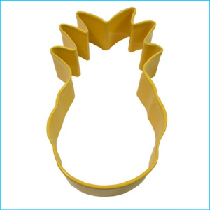 Cookie Cutter Pineapple 9cm Yellow