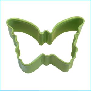 Cookie Cutter Butterfly Mini 4cm Green