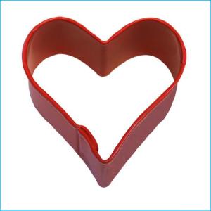 Cookie Cutter Heart Mini 3.5cm Red