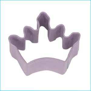 Cookie Cutter Crown Mini 4.5cm Purple