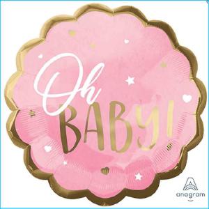 Super Foil Oh Baby Pink Gold 55cm