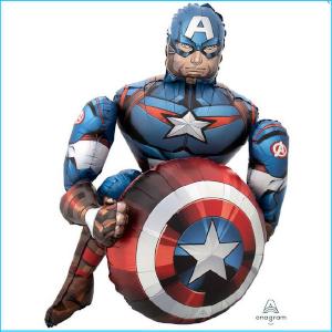 Airwalker Captain America
