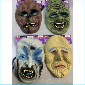 Assorted Scary Masks