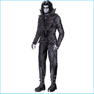 Life Size Gothic Prince 6ft