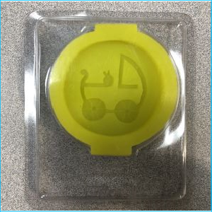 Silicone Mould Pram 3D