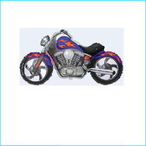 Super Foil Motorcycle Blue
