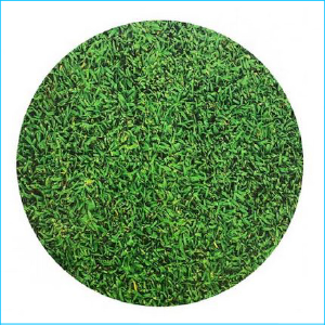 "Cake Board Printed Grass 14"" Round"