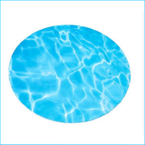 Cake Board Printed Water 14' Round