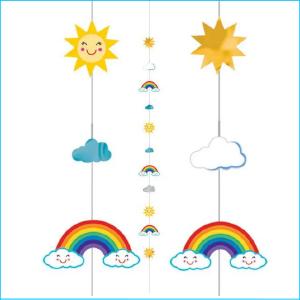 Balloon Fun String Rainbow Sun Pack 1