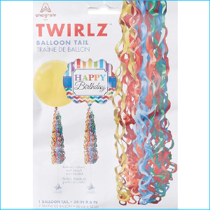 Balloon Tail Primary Colour Pack 1