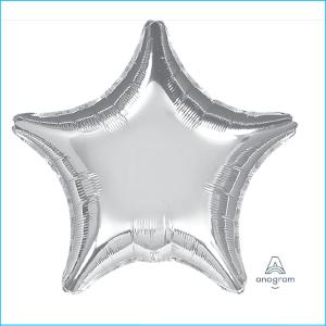 Foil 45cm Star Silver