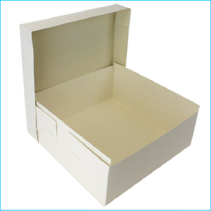 "Cake Box 16"" x 16"" x 6"" with Lid"